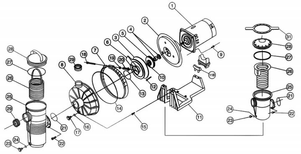 Pentair Challenger (High Flow) Replacement Parts