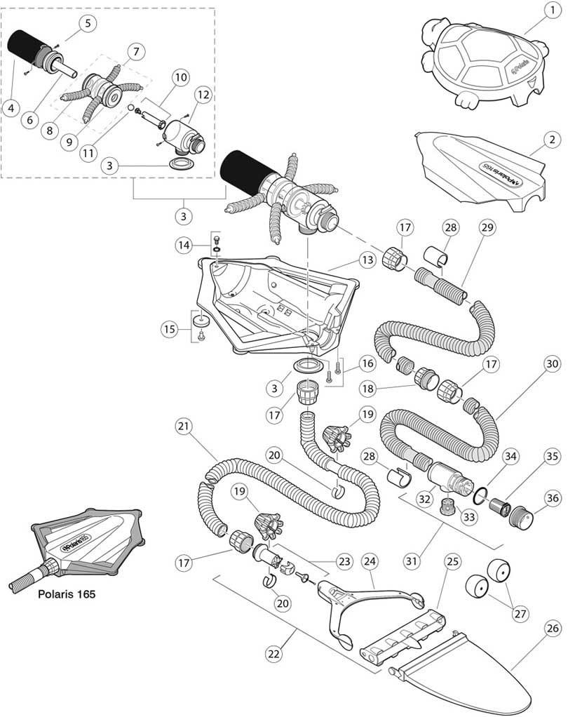 Polaris 165 Replacement Parts