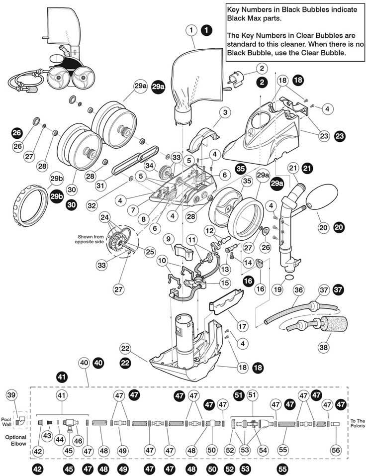 Polaris 360 Replacement Parts