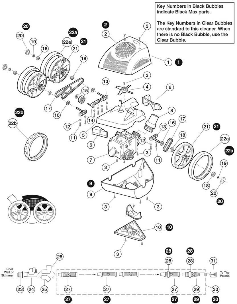 Polaris ATV/340 Replacement Parts