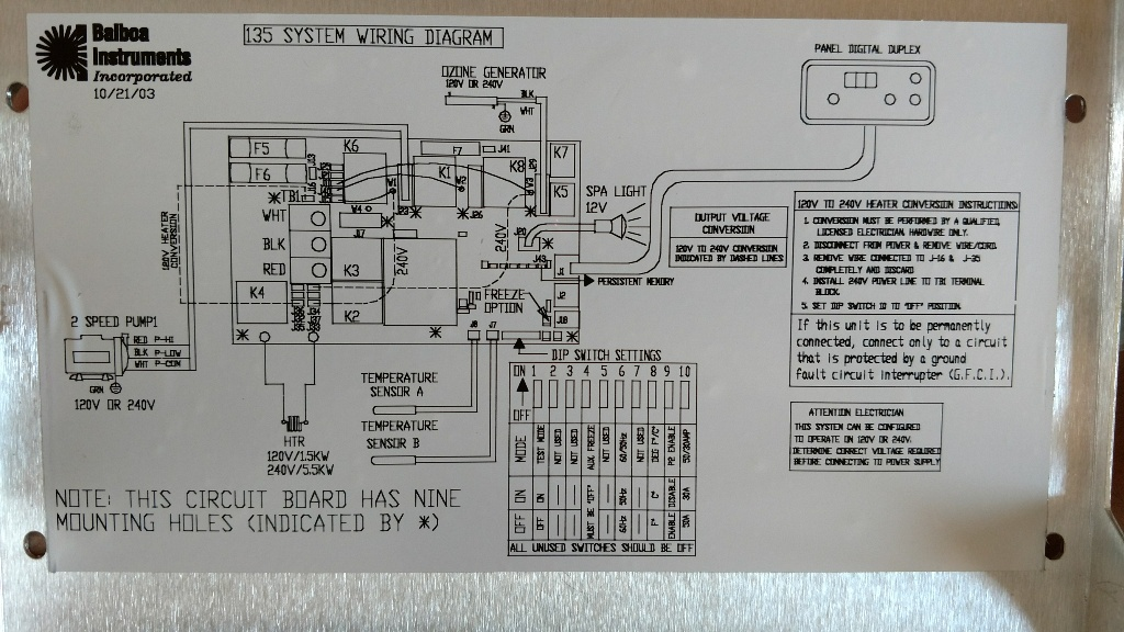Hot Springs Spa Sovereign Schematic Wiring Diagram Hot Get Free