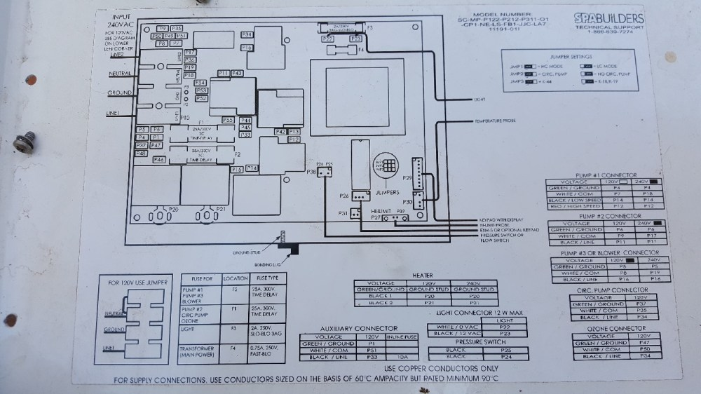 medium resolution of la spa wiring portable hot tubs spas pool and spa forum watkins spa wiring diagrams