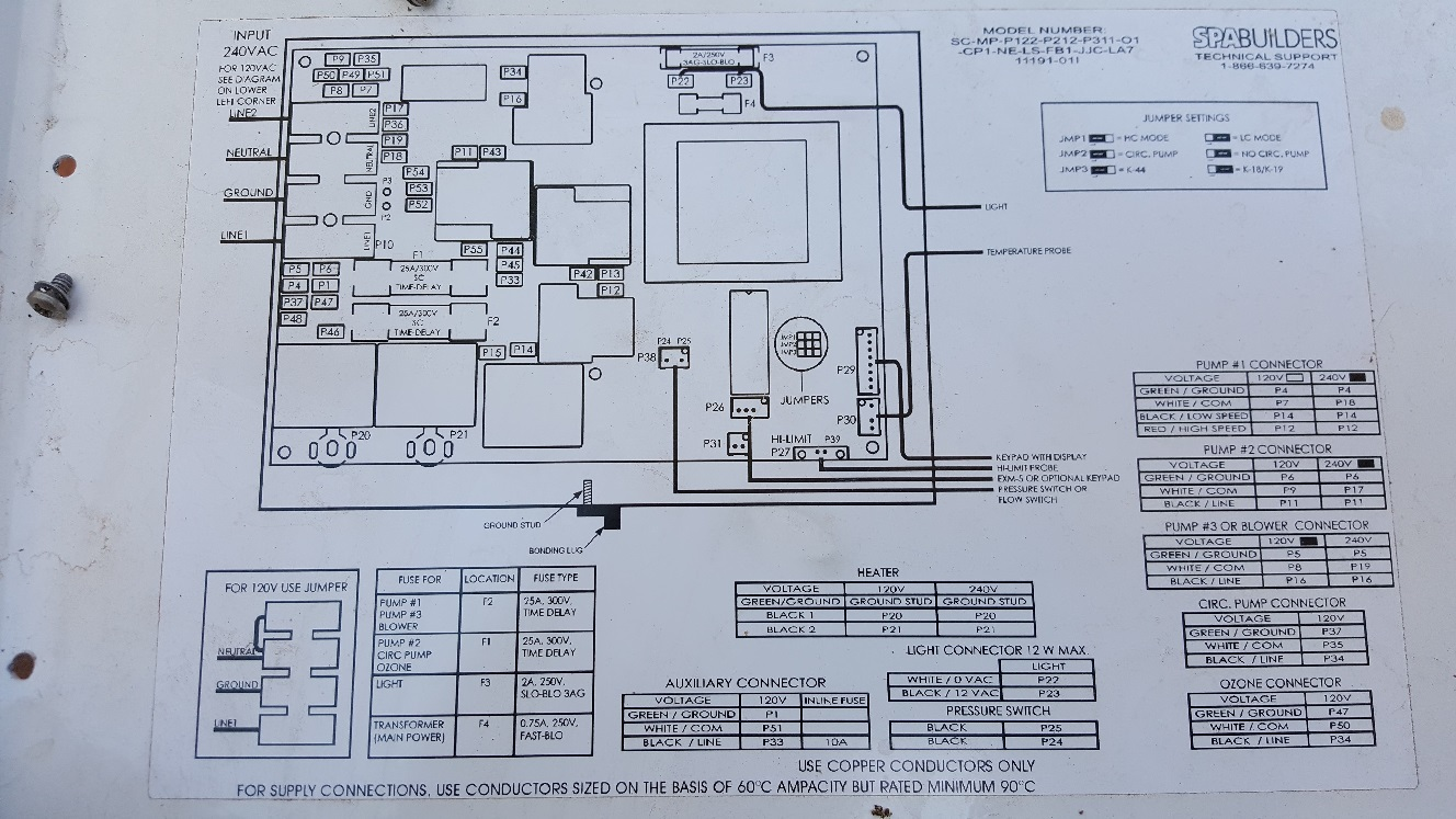 hight resolution of la spa wiring portable hot tubs spas pool and spa forum watkins spa wiring diagrams
