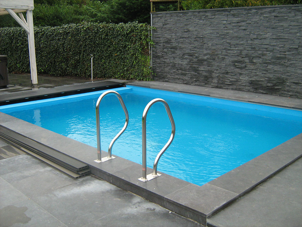Klein Polyester Zwembad L