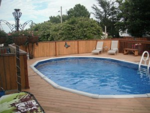 Nature 18 ft Round Above Ground Pool | Pool Supplies Canada