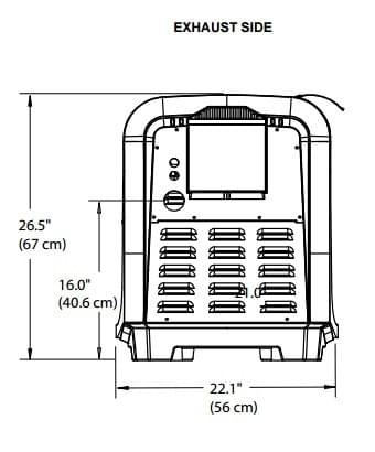 Jandy Pro Series JXi Low NOx 400000 BTU Natural Gas Heater