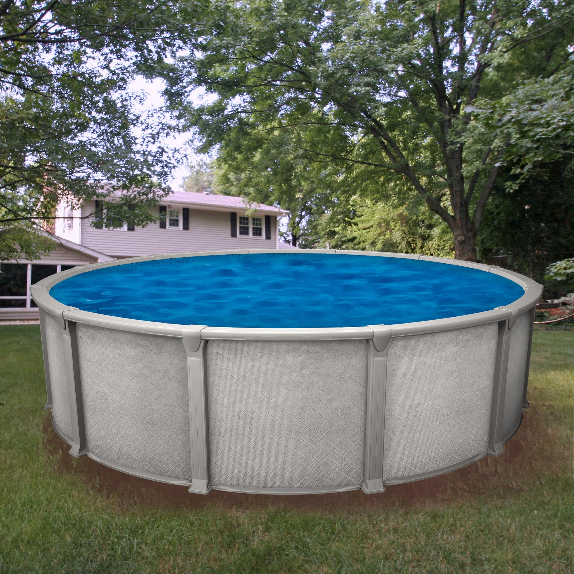 Galaxy 30 Ft Round Above Ground Pool Pool Supplies Canada