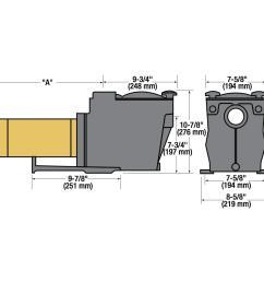 hayward super pump 1 hp inground [ 914 x 914 Pixel ]