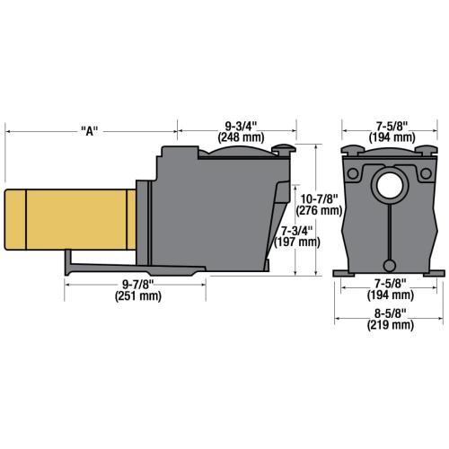 small resolution of  hayward super pump 1 hp inground