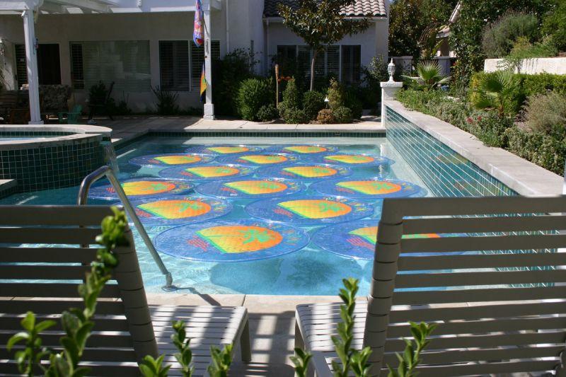 Solar Sun Rings Solar Blanket  Palm Tree Pattern SSRA100