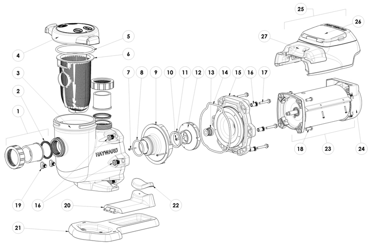 Hayward Ecostar Pump Wiring Diagram Hayward Pump