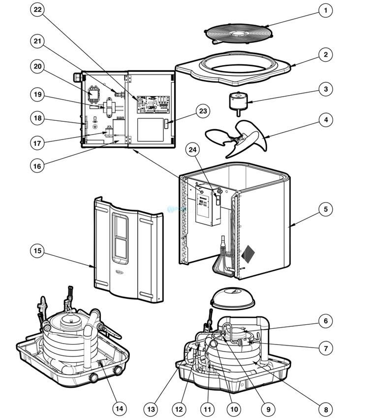 fan heat pump schematic