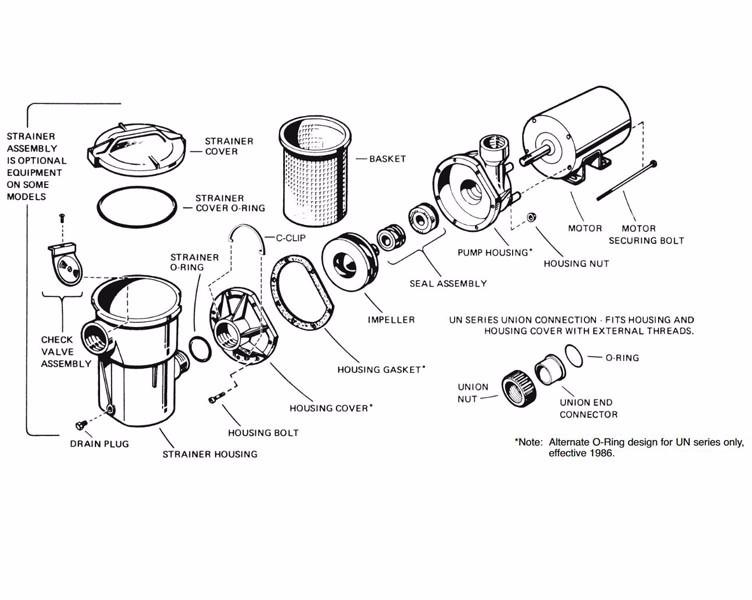Hayward Pool Pump Parts O Ring