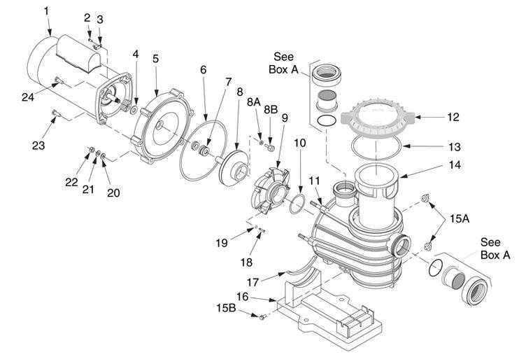 Us Electric Motor Wiring Diagram Spa Pump. Us. Tractor