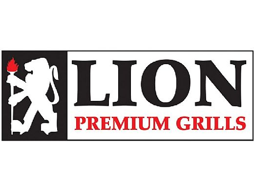 Lion Premium Grill Islands Quality Q with Stucco Natural
