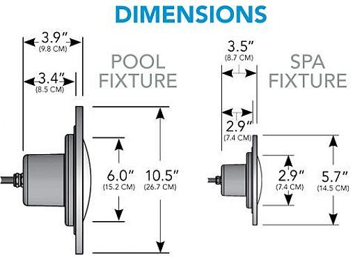 J&J Electronics PureWhite LED Pool Light 120V Equiv 300W