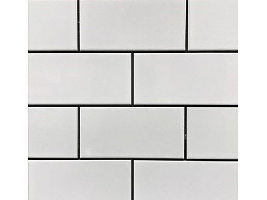 cepac tile continental subway 3x6 series glossy white cos 1
