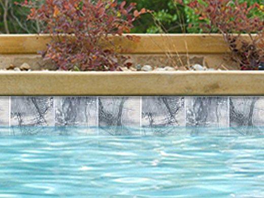 national pool tile serpentine 6x6 series gray spn gray
