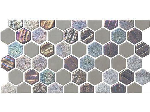 national pool tile starburst border glass tile smoke gray sta smoke bdr
