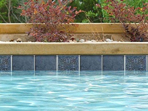 national pool tile catania 6x6 series ocean blue deco catblue deco