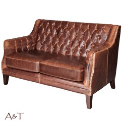 Leather Chairs Of Bath London Best Game Chair Settee In Antique Saddle