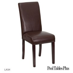 Parson Chairs Burnt Orange Accent Chair Brown Parsons