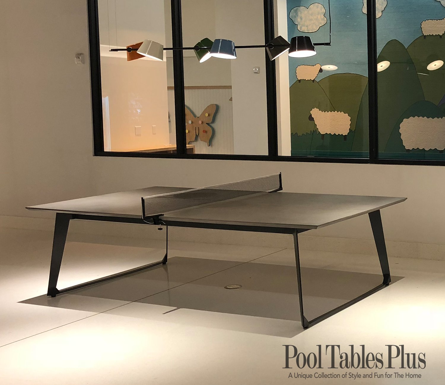 infinity concrete ping pong table