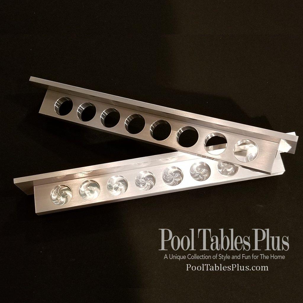 solid aluminum 2 piece rack