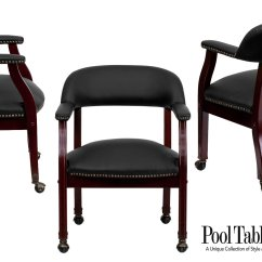 Poker Table Chairs With Casters Buy Lazy Boy Chair Game In Black