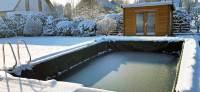 Pool Im Winter Abdecken Oder Nicht  Wohn-design