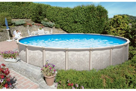 Other packages include ladders, pumps and filters, chemicals, pool covers, maintenance kits and more! 24 Ft Round Magnus Above Ground Swimming Pool Kit