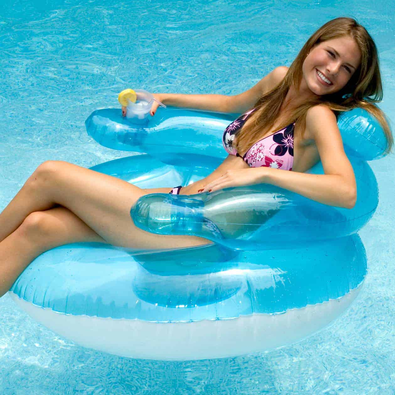 pool floating lounge chairs swing chair with canopy 45 bubble float warehouse