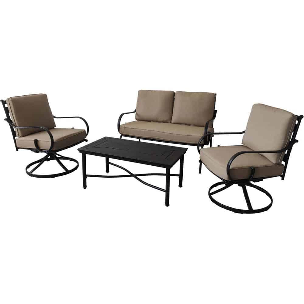 montclair 4 piece patio set