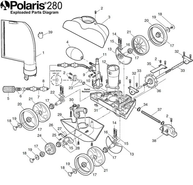 How-to Install Polaris 280 Tune-Up/Rebuild Kit