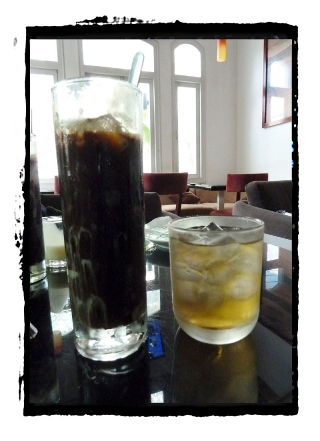 Vietnamese Ice Coffee with Green Jasmine Tea