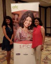 Chef Bal Anerson with Poonam Sagar