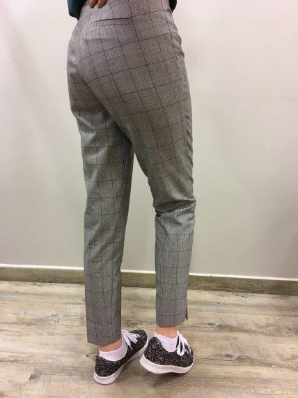 Pantalon imprimé Prince de Galles