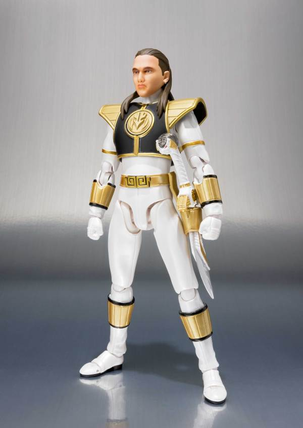 "Bandai .figuarts White Ranger ""mighty Morphin Power"