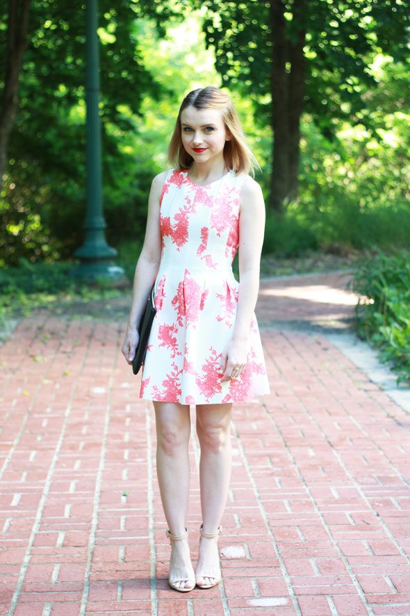 Chicwish Floral Print Dress - Poor Little It Girl-6363