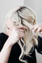 side braid short