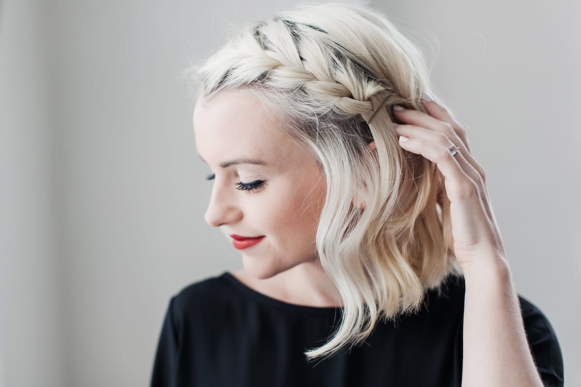 How To Do A Side Braid On Short Hair