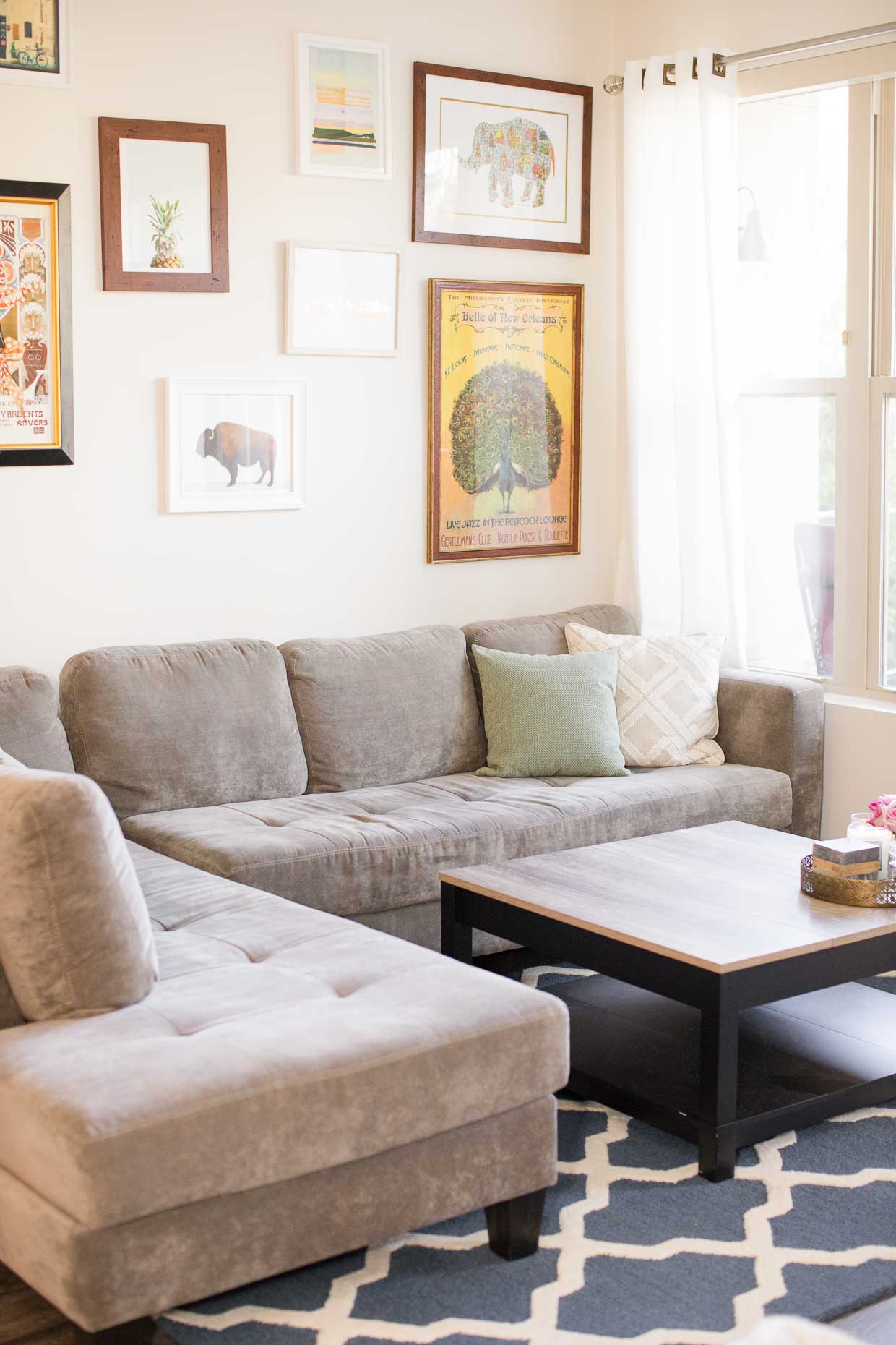 Atlanta Apartment Tour  Affordable Home Decor  Poor Little It Girl
