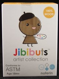 JIBIBUTS ARTIST SERIES - WOODEN BLIND BOX BY NOFERIN