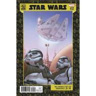 Star Wars Vol 4 #32 Will Robson Star Wars 40th Anniversary Variant Cover (Screaming Citadel Part 4)