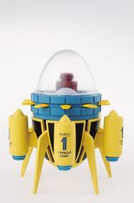BANPRESTO - DRAGON BALL SUPER - CAPSULE CORPORATION TIME MACHINE 15 CM