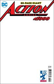 Action Comics Vol 2 #1000 Variant Blank Cover (Cover J)