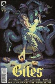 Buffy: The Vampire Slayer Season 11 Giles #2 Steve Morris Regular Cover