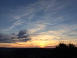 Sonnenuntergang - Urlaub geniesen - Gesundheit