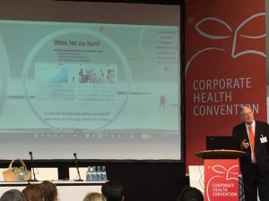 Gesundheit - Corporate Health Convention 2016, Vortragsreferent Mark Wooldbridge