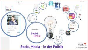 Social Media in Politik_pop-up SocialMedia PR-Agentur